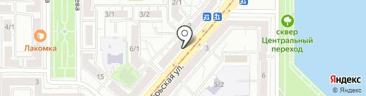 Бухта на карте Магнитогорска