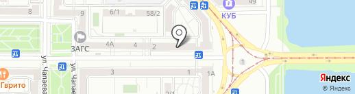 АвтоГраф на карте Магнитогорска