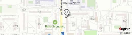 Магазин пряжи на карте Магнитогорска