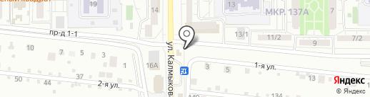 Закусочная на карте Магнитогорска