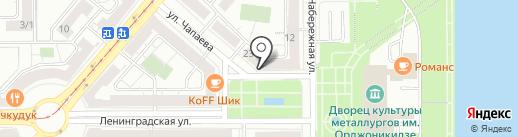 Выбор на карте Магнитогорска