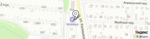 ЮГ на карте Магнитогорска