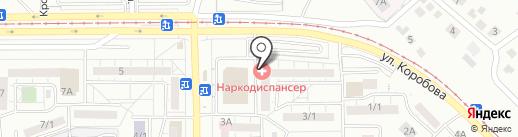 Областной наркологический диспансер на карте Магнитогорска