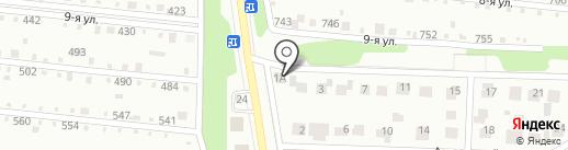 Прибрежное, ТСН на карте Магнитогорска