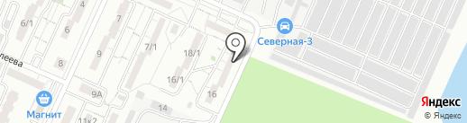 Гранит-Комплект М на карте Магнитогорска
