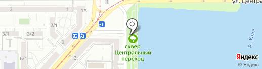 Шельф на карте Магнитогорска