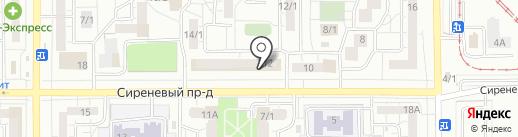 Социальная аптека на карте Магнитогорска
