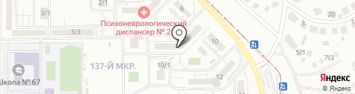 ЗАГС Орджоникидзевского района на карте Магнитогорска