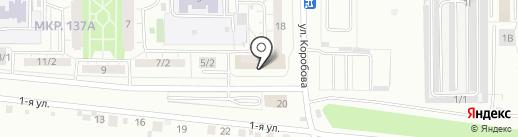 Скорая медицинская помощь на карте Магнитогорска
