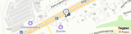НАВИН на карте Магнитогорска