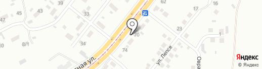 70-й на Магнитной на карте Магнитогорска