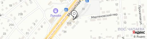 Магазин строительного оборудования на карте Магнитогорска