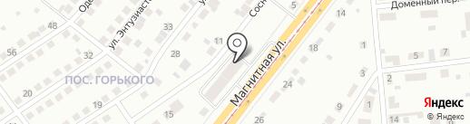 АвтоЛегион на карте Магнитогорска