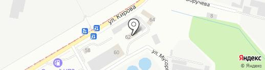 Отдельная рота охраны и конвоирования подозреваемых и обвиняемых УМВД по г. Магнитогорску на карте Магнитогорска