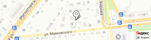 Столярный цех на карте Магнитогорска