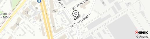 Автохимбыт на карте Магнитогорска
