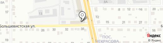 Винтаж на карте Магнитогорска