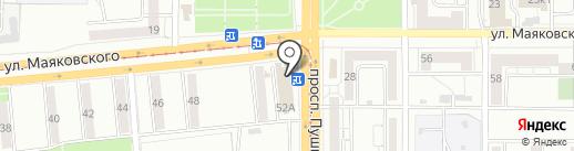 Банкомат, Банк Уралсиб, ПАО на карте Магнитогорска