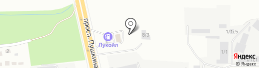АРК-СЕРВИС на карте Магнитогорска