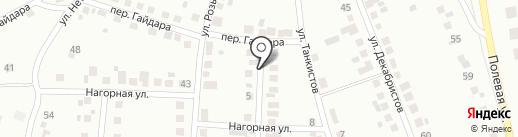 Алтын на карте Магнитогорска