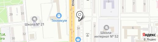 Кафе-пельменная на карте Магнитогорска