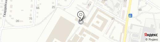 Адаптационный центр трудовой занятости осужденных на карте Магнитогорска