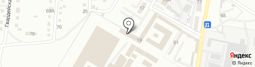 Исправительная колония №18 на карте Магнитогорска