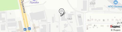 Магнитогорская гидравлическая компания на карте Магнитогорска
