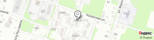 Перевозчик 1 на карте Магнитогорска