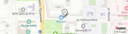 ФармКом на карте Магнитогорска