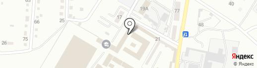 Следственный изолятор №2 на карте Магнитогорска