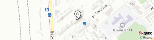 Аптека от склада на карте Магнитогорска