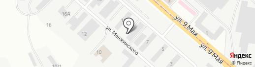 Магазин крепежных изделий на карте Магнитогорска