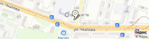 КанцПарк на карте Магнитогорска