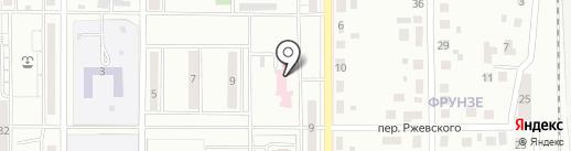 Центр семейной медицины на карте Магнитогорска
