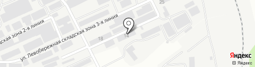 Компания по производству проволоки и арматурной сетки на карте Магнитогорска