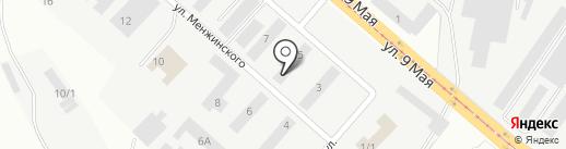 Мебельная мастерская на карте Магнитогорска