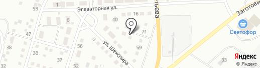 CarGL на карте Магнитогорска