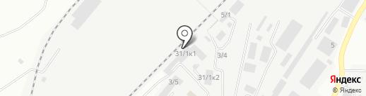 Магнитогорский железнодорожный таможенный пост на карте Магнитогорска