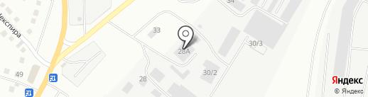 Магнитогорскагроспецмонтаж, ЗАО на карте Магнитогорска