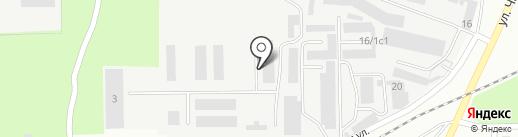 Амарант на карте Магнитогорска