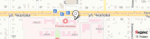 Станция переливания крови на карте Магнитогорска