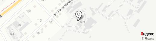 Китай-Авто на карте Магнитогорска