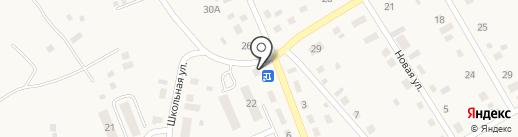 Продуктовый магазин на карте Наровчатки
