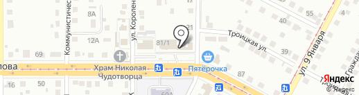 Компания по изготовлению мраморных и гранитных памятников на карте Магнитогорска