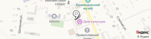 Почтовое отделение на карте Наровчатки