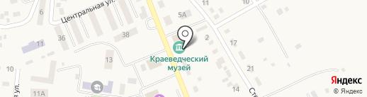 Музей на карте Наровчатки