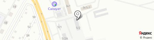 Гидравлик на карте Магнитогорска