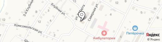 Совет депутатов Приморского сельского поселения на карте Приморского