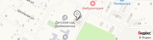 Центральный на карте Приморского